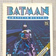 Cómics: BATMAN. JUSTICIA DIGITAL. NUMERO UNICO. EDICIONES ZINCO 1990. Lote 213993776