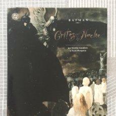 Cómics: BATMAN. GRITOS EN LA NOCHE DE ARCHIE GOODWIN. NUMERO UNICO. EDICIONES ZINCO 1993. Lote 213993958