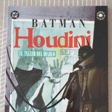 Cómics: BATMAN / HOUDINI. EL TALLER DEL DIABLO DE HOWARD CHAYKIN. ZINCO 1994. Lote 213999107