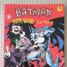 Cómics: BATMAN. JOKER OSCURO. LA SELVA DE DOUG MOENCH Y KELLEY JONES. ZINCO 1994. Lote 213999537
