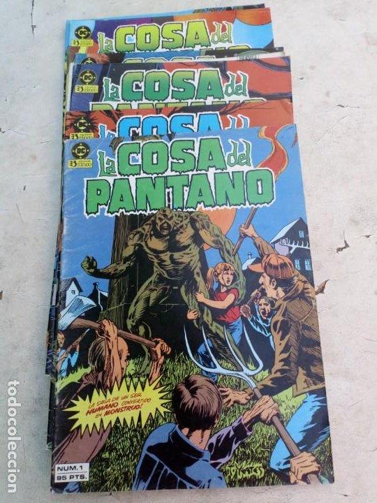 Cómics: La Cosa del Pantano 1ª Serie Nº 1 al 9 (la colección es de 10 cómics y falta el Nº 10 ) - Foto 2 - 214041620