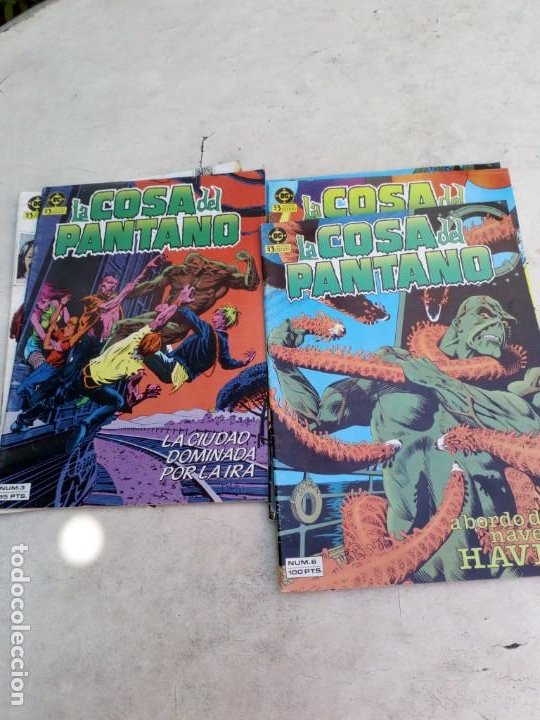 Cómics: La Cosa del Pantano 1ª Serie Nº 1 al 9 (la colección es de 10 cómics y falta el Nº 10 ) - Foto 3 - 214041620