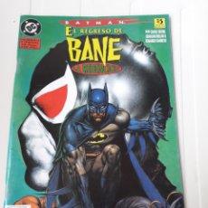 Cómics: BATMAN. EL REGRESO DE BANE. NÚMERO EXTRA. Lote 214084142