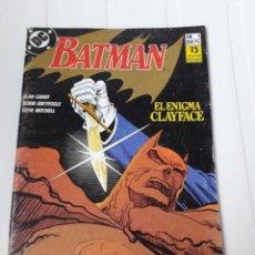 Cómics: BATMAN. EL ENIGMA CLAIFACE. NUM 1. Lote 214084330