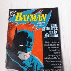 Cómics: BATMAN UNA MUERTE EN LA FAMILIA. NUM 1. Lote 214084786