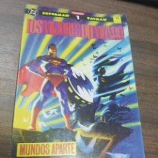 Cómics: TEBEO. SUPERMAN. BATMAN. LOS MEJORES DEL MUNDO. Nº 1. EDICIONES ZINCO.. Lote 214086626