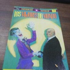 Comics : TEBEO. SUPERMAN. BATMAN. LOS MEJORES DEL MUNDO. Nº 2. EDICIONES ZINCO.. Lote 214087027