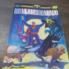 Comics : TEBEO. SUPERMAN. BATMAN. LOS MEJORES DEL MUNDO. Nº 3. EDICIONES ZINCO.. Lote 214087070