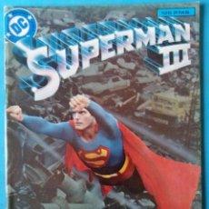 Comics : SUPERMAN III ADAPTACIÓN DEL FILM ESPECIAL EDICIONES ZINCO 48 PAGINAS BUEN ESTADO. Lote 214098046