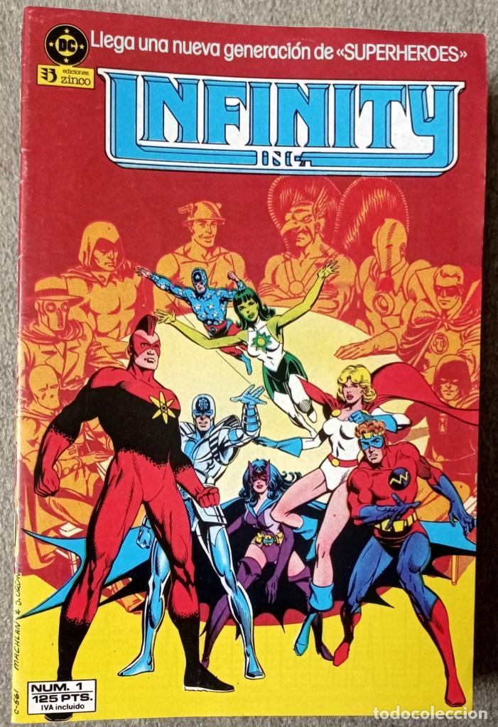 INFINITY INC. (22 NÚMEROS COMPLETA) (Tebeos y Comics - Zinco - Infinity Inc)