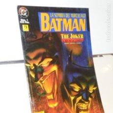 Cómics: LA SOMBRA DEL MURCIELAGO BATMAN Nº 1 THE JOKER EL REY DE LA COMEDIA - ZINCO. Lote 214202963