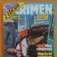Cómics: CRIMEN N° 16- 2A EDICIÓN. Lote 214203801
