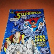 Cómics: SUPERMAN. Nº 5 . LANA LANG ESTATUA DE PIEDRA. ZINCO.. Lote 214252082