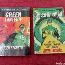 Cómics: GREEN LANTERN-EL GUERRERO ESMERALDA- GREEN LANTERN ORIGEN SECRETO-2 TOMOS - COMIC SUPER HEROES. Lote 214266116