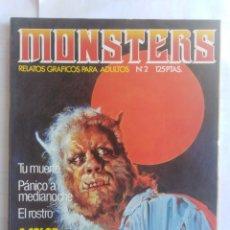 Cómics: MONSTERS - RELATOS GRÁFICOS PARA ADULTOS - NÚMERO 2. Lote 214331725