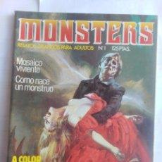 Cómics: MONSTERS - RELATOS GRÁFICOS PARA ADULTOS - NÚMERO 1. Lote 214331780