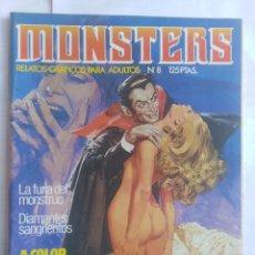 Cómics: MONSTERS - RELATOS GRÁFICOS PARA ADULTOS - NÚMERO 82. Lote 214331871