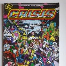 Cómics: CRISIS EN TIERRAS INFINITAS NUM 9. ED ZINCO. Lote 214374678