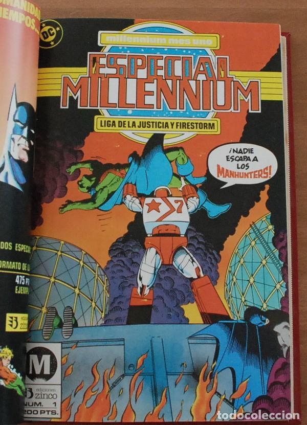 Cómics: COLECCION MILLENNIUM Y ESPECIAL MILLENNIUM MILENIUM - ED.ZINCO - 2 TOMOS , 20 NUMEROS. - Foto 3 - 214378685