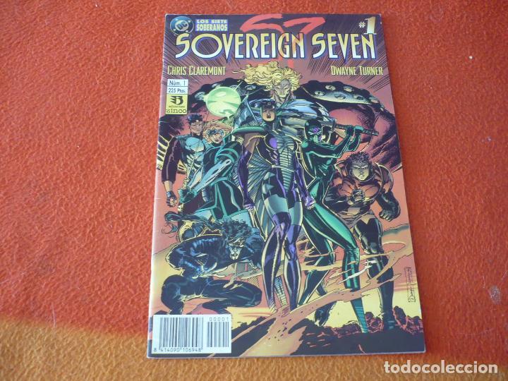 SOVEREIGN SEVEN Nº 1 ( CLAREMONT ) ¡BUEN ESTADO! ZINCO DC LOS SIETE SOBERANOS (Tebeos y Comics - Zinco - Otros)