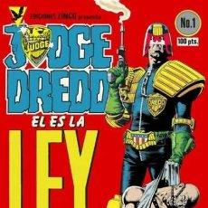 Comics: JUDGE DREDD-ZINCO- Nº 1 -GRAN BRIAN BOLLAND-CAM KENNEDY-1984-MUY ESCASO-M.BUENO-LEAN-3484. Lote 214499656