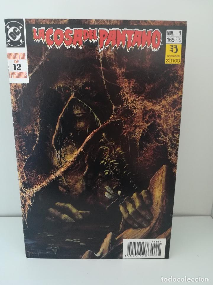 LA COSA DEL PANTANO NUMERO 1 (Tebeos y Comics - Zinco - Cosa del Pantano)
