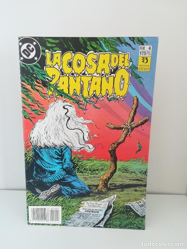 LA COSA DEL PANTANO NUMERO 4 DC COMICS (Tebeos y Comics - Zinco - Cosa del Pantano)