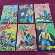Cómics: TEX EDICIONES ZINCO 1988 (6 NUMEROS DEL 1 AL 6 COMPLETA)COMIC DEL OESTE. Lote 214942910