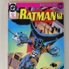 Cómics: BATMAN COMICS. GENESIS OSCURA. EDICIONES ZINCO.. Lote 215163797