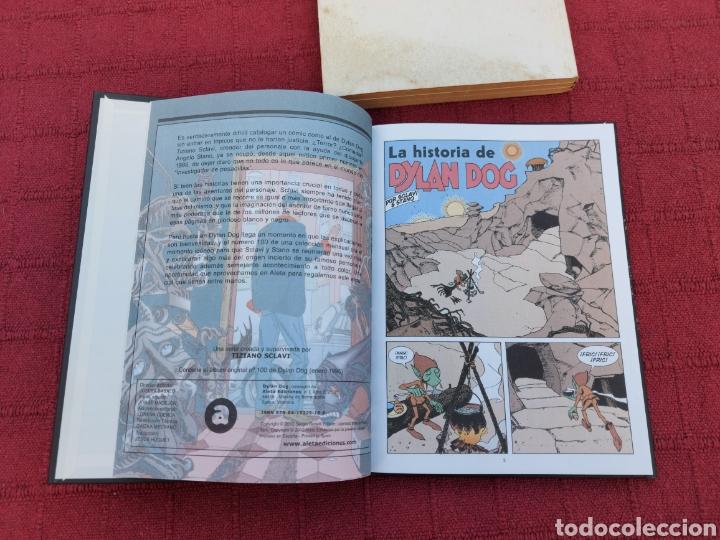 Cómics: DYLAN DOG LOTE DE DOS COMICS UN RETAPADO TOMO 1 DE ZINCO, Y LA HISTORIA DE DYLAN DOG DE ALETA - Foto 8 - 215193385