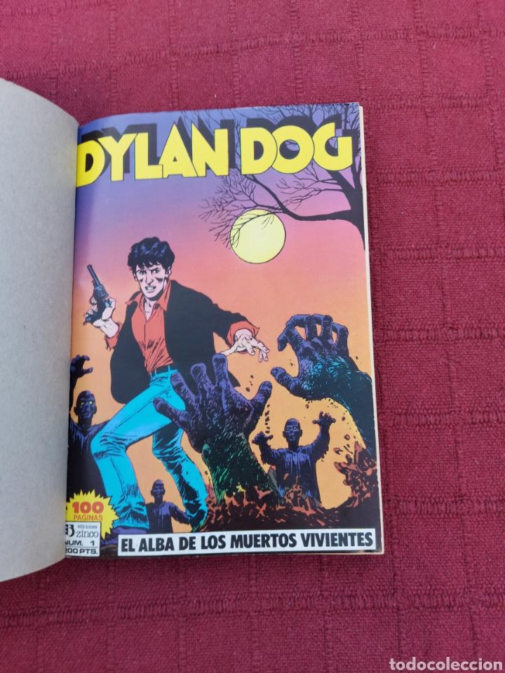 Cómics: DYLAN DOG LOTE DE DOS COMICS UN RETAPADO TOMO 1 DE ZINCO, Y LA HISTORIA DE DYLAN DOG DE ALETA - Foto 10 - 215193385