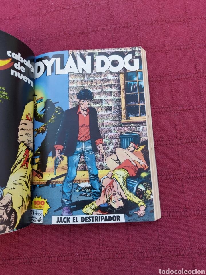 Cómics: DYLAN DOG LOTE DE DOS COMICS UN RETAPADO TOMO 1 DE ZINCO, Y LA HISTORIA DE DYLAN DOG DE ALETA - Foto 11 - 215193385