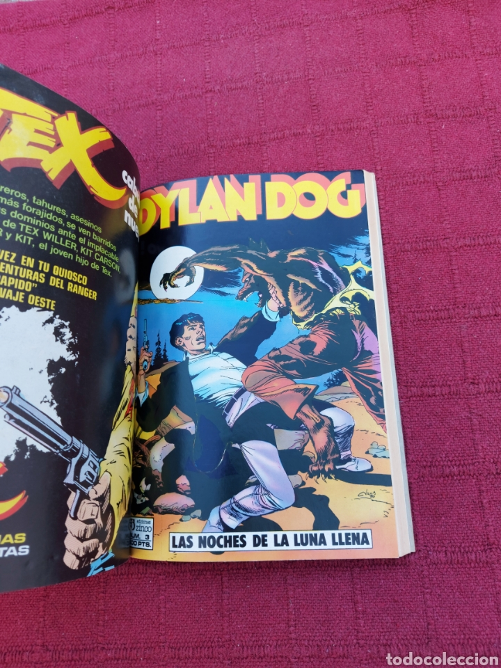 Cómics: DYLAN DOG LOTE DE DOS COMICS UN RETAPADO TOMO 1 DE ZINCO, Y LA HISTORIA DE DYLAN DOG DE ALETA - Foto 12 - 215193385