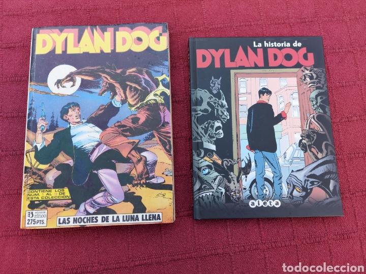 DYLAN DOG LOTE DE DOS COMICS UN RETAPADO TOMO 1 DE ZINCO, Y LA HISTORIA DE DYLAN DOG DE ALETA (Tebeos y Comics - Zinco - Retapados)