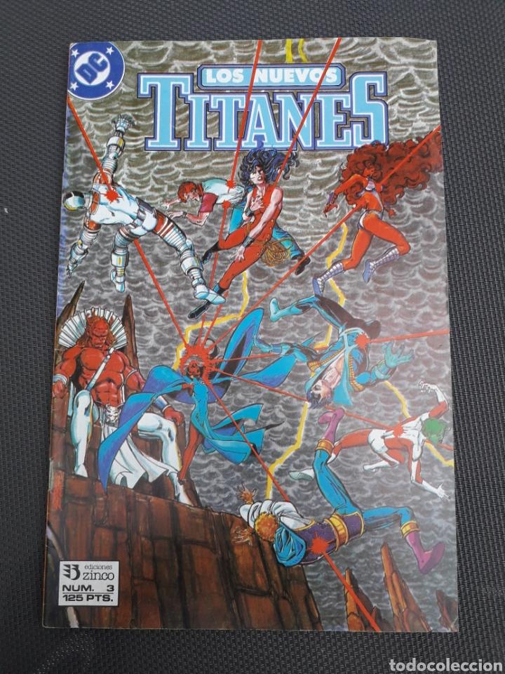 LOS NUEVOS TITANES VOL 2 NUM 3 (Tebeos y Comics - Zinco - Nuevos Titanes)