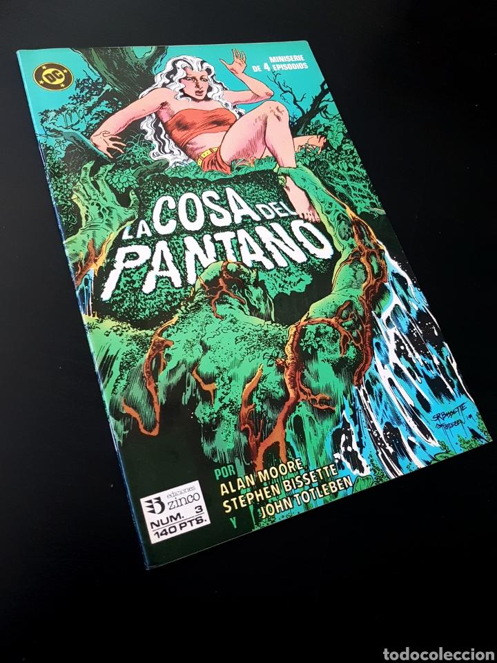 EXCELENTE ESTADO LA COSA DEL PANTANO 3 ZINCO DC (Tebeos y Comics - Zinco - Cosa del Pantano)