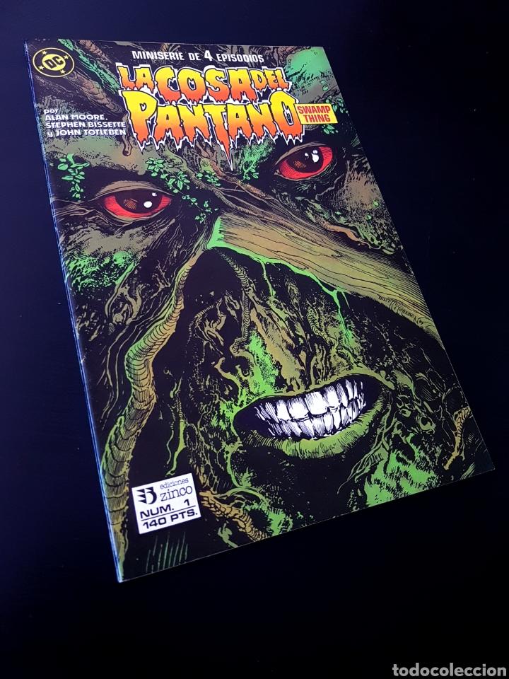 EXCELENTE ESTADO LA COSA DEL PANTANO 1 ZINCO DC (Tebeos y Comics - Zinco - Cosa del Pantano)