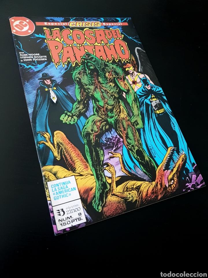 EXCELENTE ESTADO LA COSA DEL PANTANO 9 ZINCO DC (Tebeos y Comics - Zinco - Cosa del Pantano)