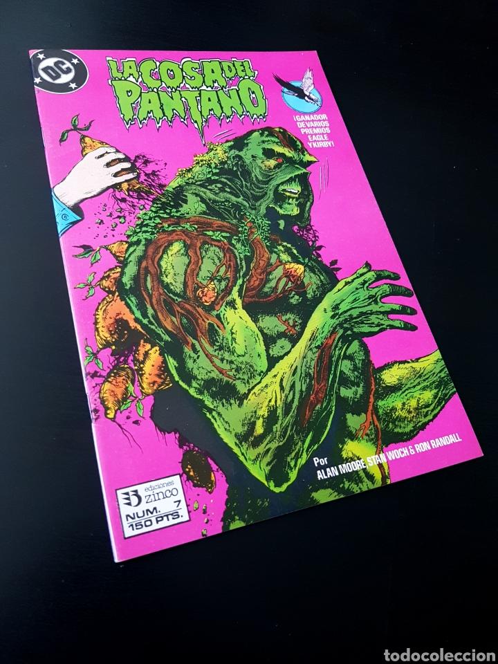EXCELENTE ESTADO LA COSA DEL PANTANO 7 ZINCO DC (Tebeos y Comics - Zinco - Cosa del Pantano)