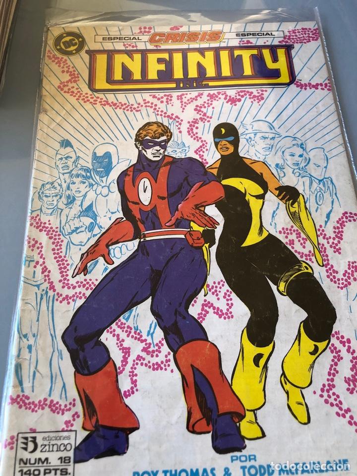 INFINITY INC. NÚM. 18. ED. ZINCO. (Tebeos y Comics - Zinco - Infinity Inc)
