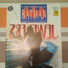 Cómics: LEYENDAS DE BATMAN 2 - BLADES. Lote 215407218