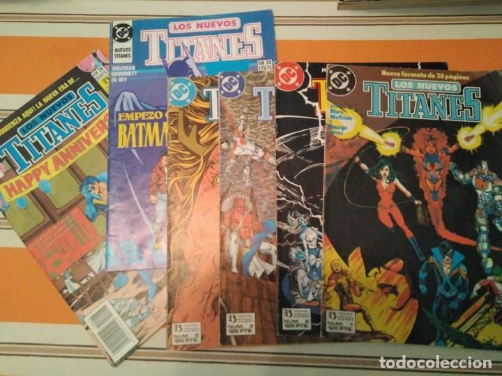 LOS NUEVOS TITANES 1, 2, 3, 5, 23 Y 28 - DC COMIC (Tebeos y Comics - Zinco - Nuevos Titanes)