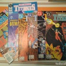 Cómics: LOS NUEVOS TITANES 1, 2, 3, 5, 23 Y 28 - DC COMIC. Lote 215407338
