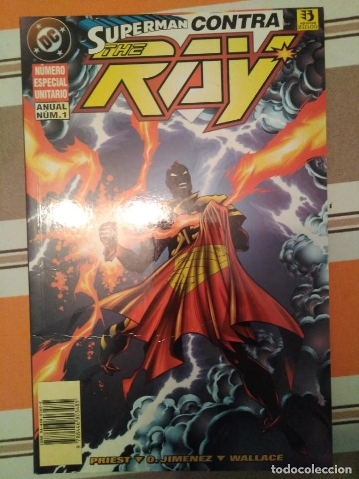 SUPERMAN CONTRA THE RAY - DC COMIC (Tebeos y Comics - Zinco - Superman)