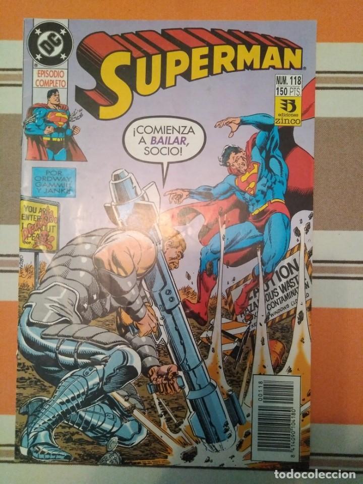 SUPERMAN ZINCO DC COMIC 118 (Tebeos y Comics - Zinco - Superman)