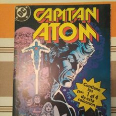 Cómics: CAPITAN ATOM 1 AL 4 - DC COMIC ZINCO. Lote 215412743