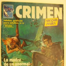Cómics: CRIMEN. RELATOS GRÁFICOS PARA ADULTOS. Nº 35 EDITA ZINCO. Lote 215512690