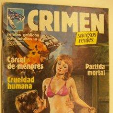 Cómics: CRIMEN. RELATOS GRÁFICOS PARA ADULTOS. Nº 33 EDITA ZINCO. Lote 215512782
