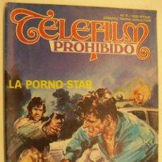 Cómics: COMIC EROTICO TELEFILM PROHIBIDO Nº 4 EDITA ZINCO. Lote 215513705