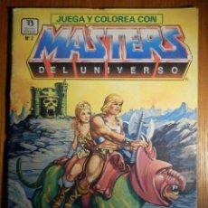 Cómics: MASTERS DEL UNIVERSO - ZINCO - Nº 2 - JUEGA Y COLOREA - 1987 - ESCASO -. Lote 215536115